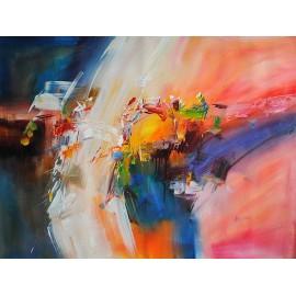 Abstrakcja (90x120cm)