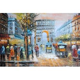 Paryska impresja (60x90cm)
