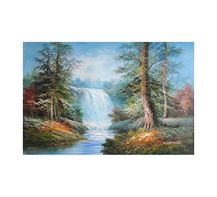 Wodospad (60x90cm)