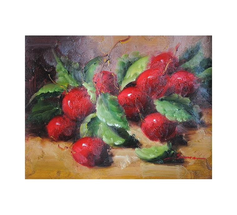 Martwa natura, owoce (30x40cm)