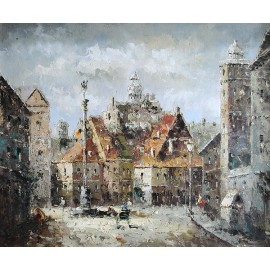 Stare Miasto, impresja (50x60cm)