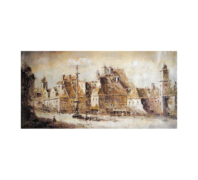 Panorama Warszawy (50x100cm)