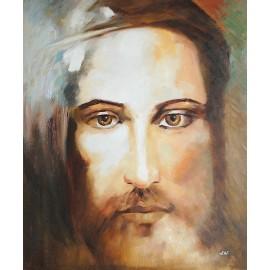 Jezus, Całun Turyński (50x60cm)