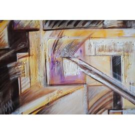 Abstrakcja (55x55cm)