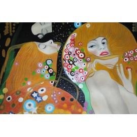 Węże wodne, Klimt (50x100cm)