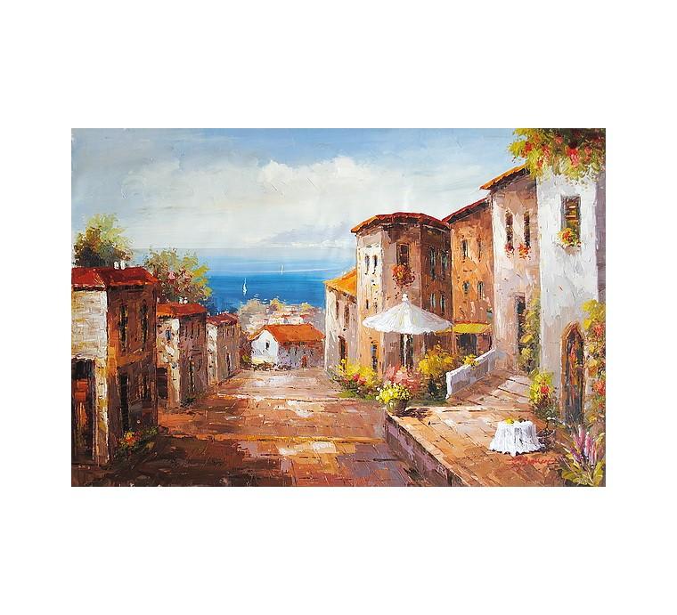 Liguryjska uliczka (60x90cm)