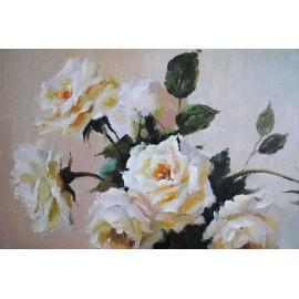 Bukiet róż (50x60cm)