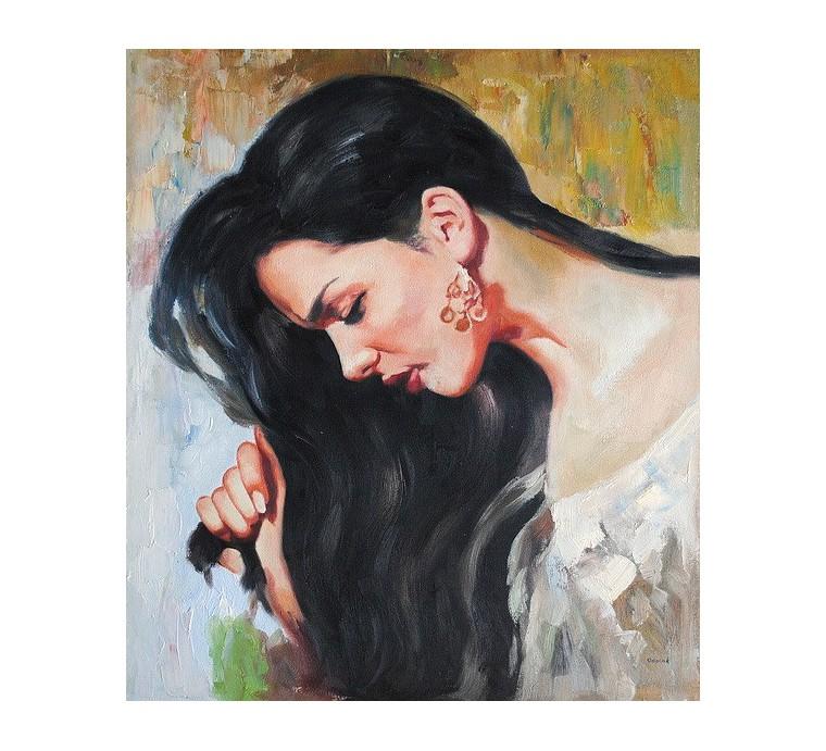 Portret kobiety (50x60cm)