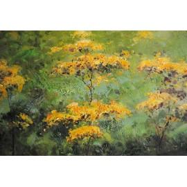 Łąka, impresja (50x60cm)