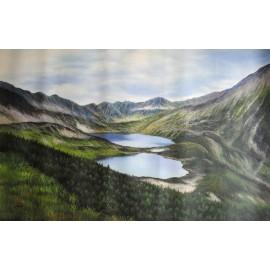 Tatry, Dolina Pięciu Stawów (60x90cm)