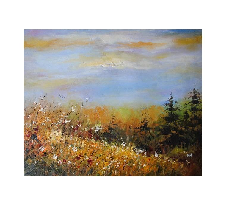 Pejzaż łąka (50x60cm)