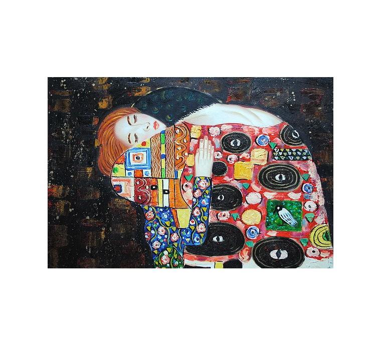 Klimt, Spełnienie (60x90cm)