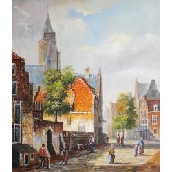 Ulica miasta (50x60cm)