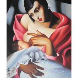 Matka z dzieckiem (50x60cm)