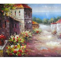 Prowansja, uliczka (60x90cm)