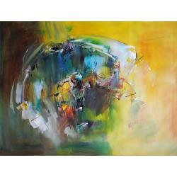 Duża abstrakcja (90x120cm)