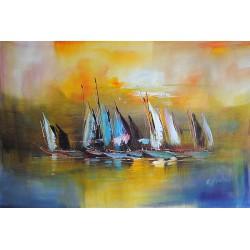 Morska abstrakcja (60x90cm)