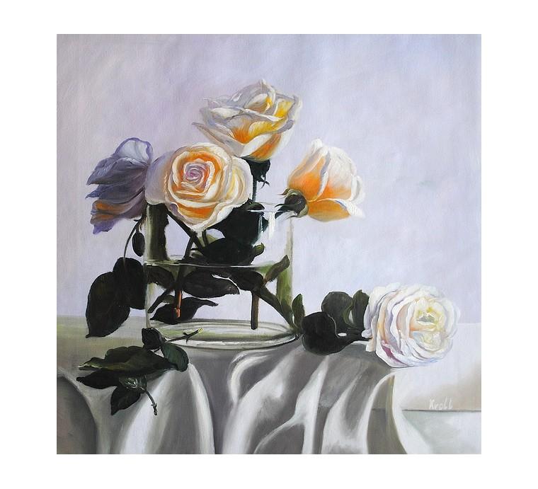 Róże (55x55cm)