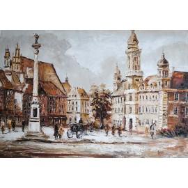 Warszawa, Stare Miasto (50x60cm)