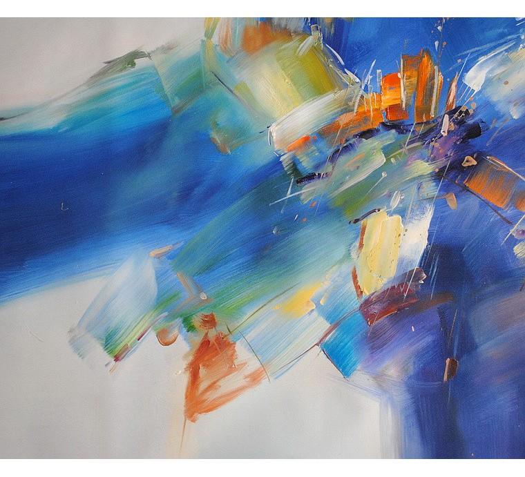 Duży obraz abstrakcyjny (90x120cm)