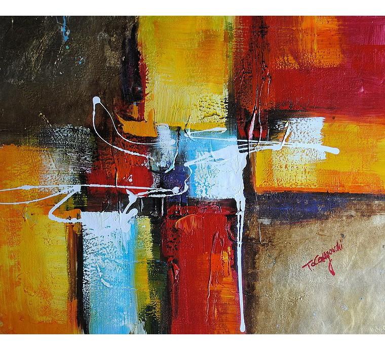 Obraz abstrakcyjny (50x60cm)