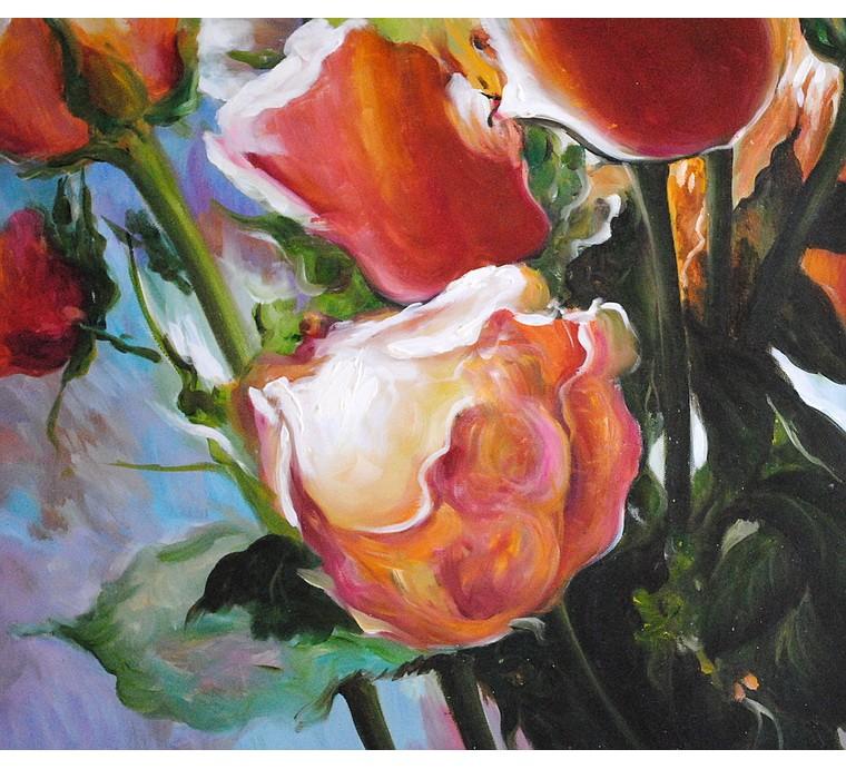 Róże (50x60cm)