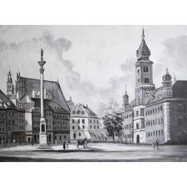 Warszawa (90x120cm)