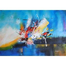 Obraz abstrakcyjny (60x90cm)