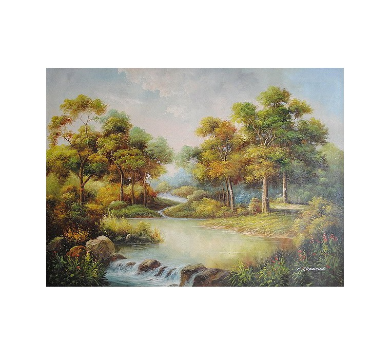 Pejzaż (90x120cm)