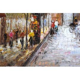 Paryż, uliczka (50x70cm)