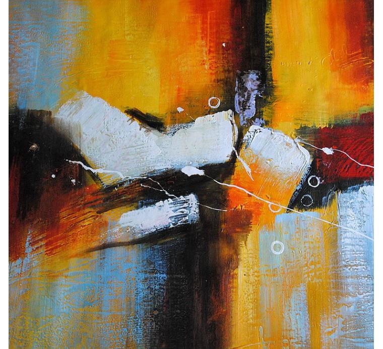 Duża abstrakcja (80x140cm)