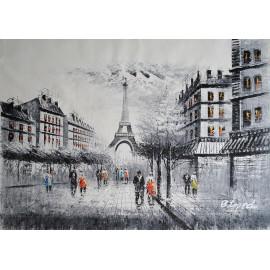 Paryż (90x120cm)