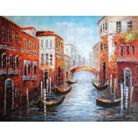 Obraz olejny Wenecji (90x120cm)