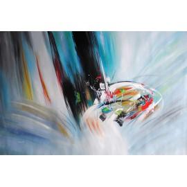 Duża abstrakcja (100x150cm)