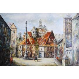 Obraz Warszawy (60x90cm)