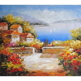 Obraz śródziemnomorski (50x60cm)