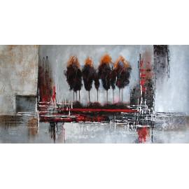 Obraz Abstrakcja, panorama (60x120cm)