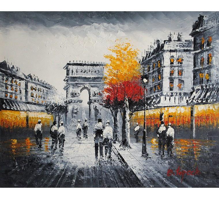 Uliczka Paryża (50x60cm)