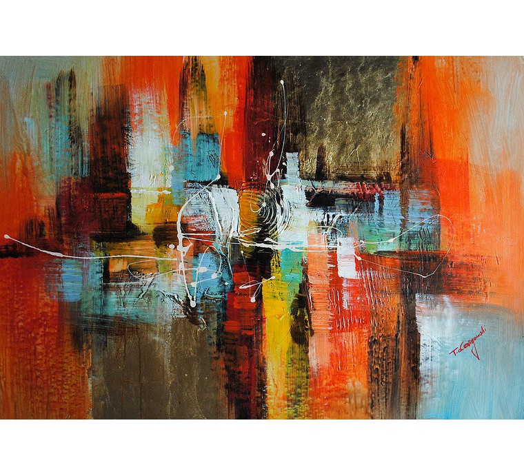 Obraz Abstrakcja (60x90cm)