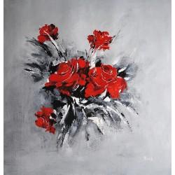 Róże (80x80cm)