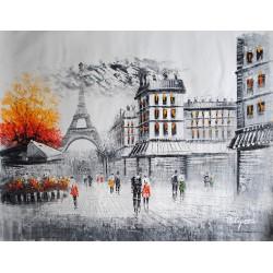 Paryska uliczka (90x120cm)
