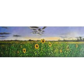 Słoneczniki (35x100cm)