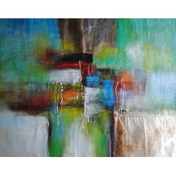 Duży obraz abstrakcja...