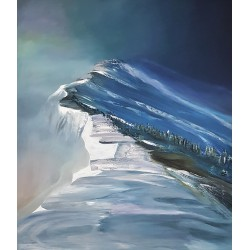 Górski szczyt (60x70cm)