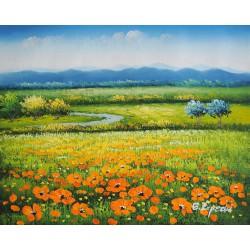 Pejzaż Prowansji (50x60cm)