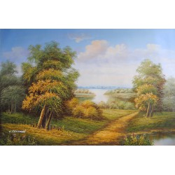 Pejzaż (60x90cm)