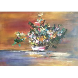 Abstrakcja z kwiatami...