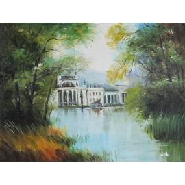 Pałac na wodzie (30x40cm)