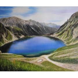 Tatry, Dolina Pięciu Stawów (50x60cm)