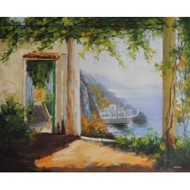 Wybrzeże liguryjskie (50x60cm)